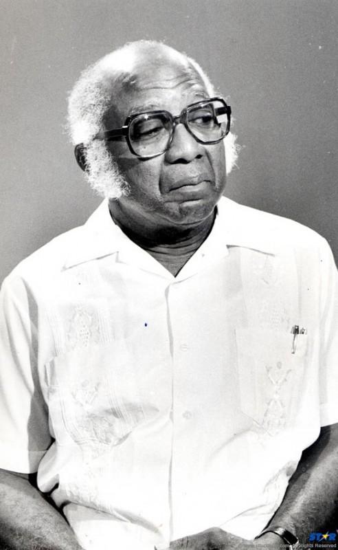 Former Speaker of the House St. Clair Daniel.