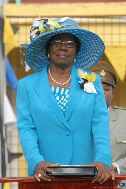 Governor General Dame Pearlette Louisy: Will she ever have the opportunity to write her own speeches?