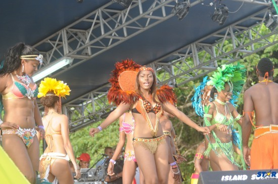 St Lucia Carnival was officially launched on Sunday June 9 at Samaan's Park.