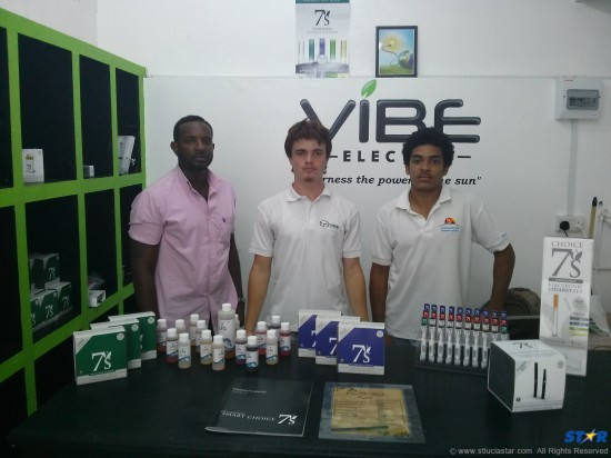 Vape N Style, a new St Lucian company, is introducing a safer alternative to smoking.