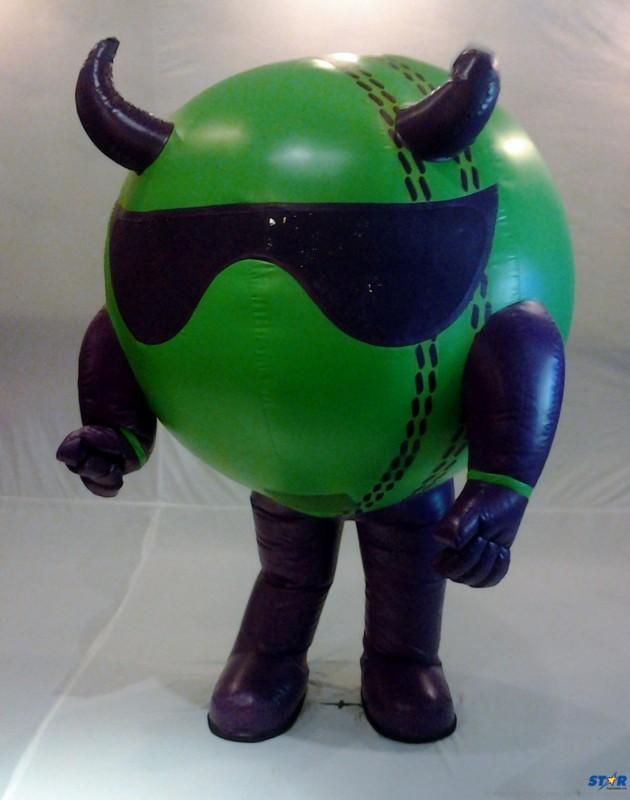 The Caribbean Premier League Mascot-Bouncer