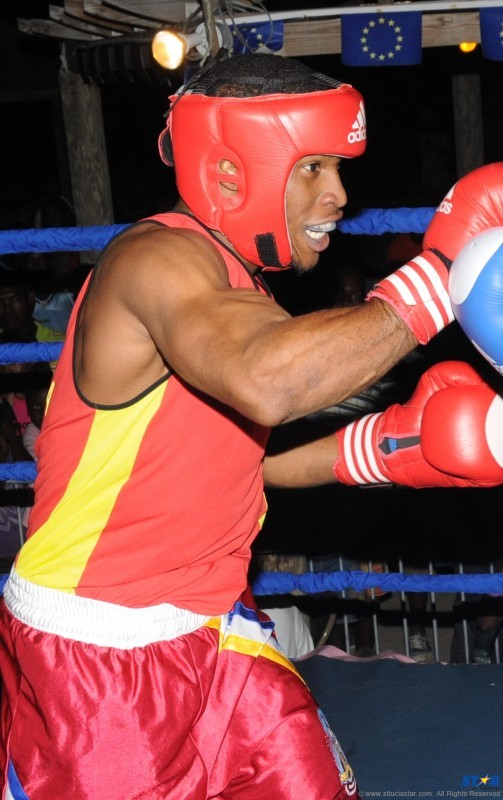 Welterweight Ron Bastien deserved a better fate in his bout against a Guadeloupean opponent which was ruled a draw.