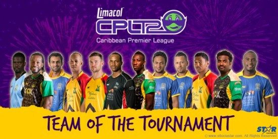 Limacol T20 Superteam with Chris Gayle as captain.