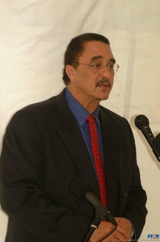 Prime Minister Kenny Anthony.