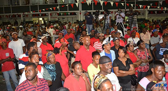 How much did attendants and the rest of Saint Lucia learn from Thursday's meeting on the steps of the Castries Market?
