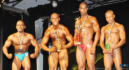 The big winners on the night at Saturday's National Bodybuilding Championships.