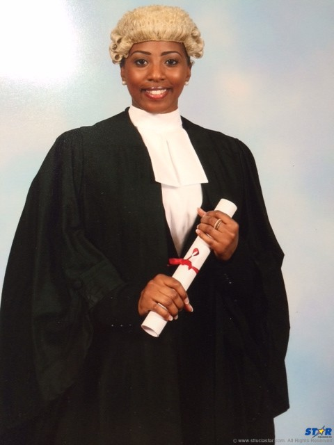 Georgette Adonis: from SJC to the Bar in 10 years.