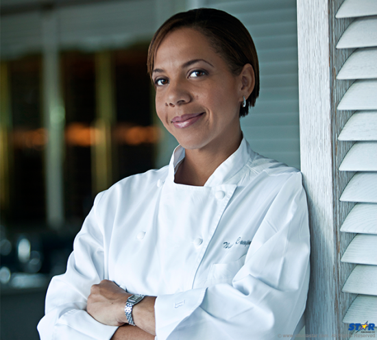 Saint Lucia's top Chef Nina Compton.