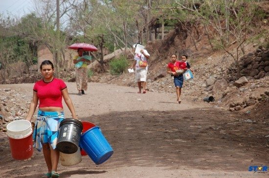Despite the restoration of water supply to most of the island, Micoud residents were still desperately waiting and carrying buckets on Tuesday morning, two weeks after the trough.