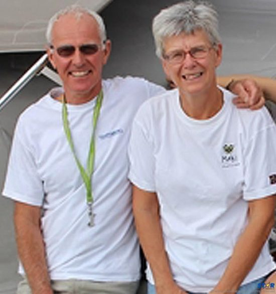 Roger and Margaret Pratt: They planned their voyage through the Caribbean islands to celebrate her 60th birthday and retirement.  It ended in tragedy in the waters of the Vieux Fort harbour.