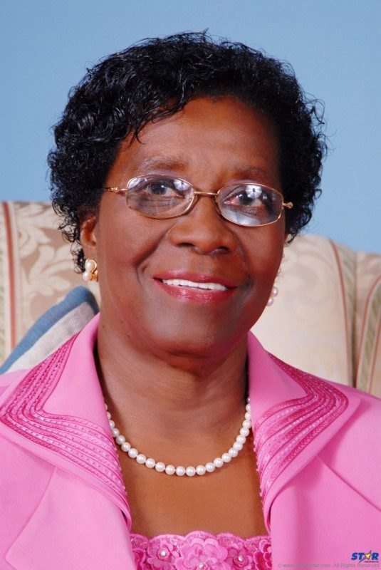 Governor General Her Excellency Dame Pearlette Louisy: The Queen's  representative addressed a high level gathering of Saint Lucia's diplomatic personnel with pleas for clarity, transparency and action from her  government.