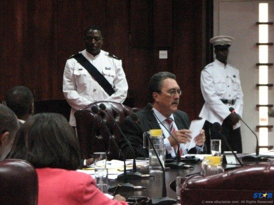 Is Saint Lucia's prime minister  Kenny Anthony about to introduce to parliament yet another law destined to be declared unconstitutional?