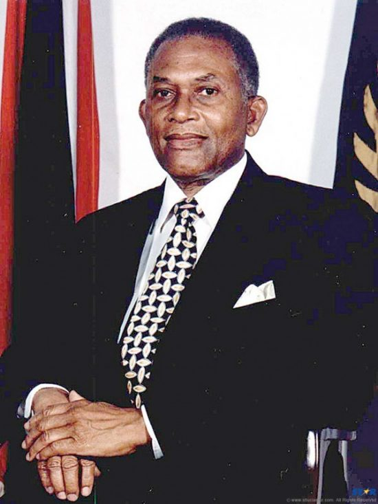 The late A.N.R. Robinson.