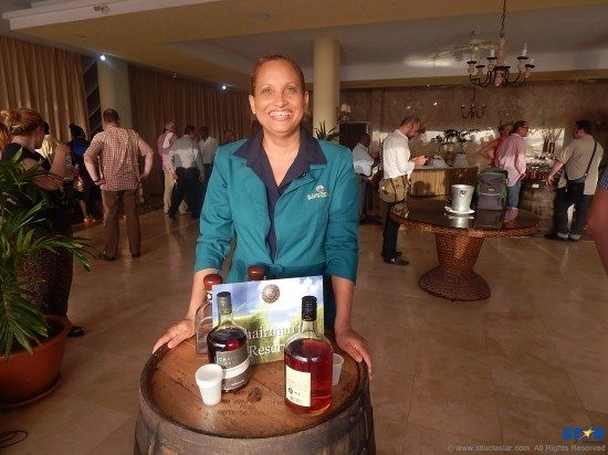 St Lucia Distillers Acting Managing Director Margaret Monplaisir: The local rum producers played host to media and dignitaries at the Authentic Caribbean Rums event.
