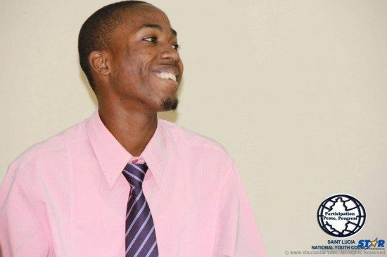 Graduate of Leon Hess Comprehensive and Youth Talk leader: Linus Constantine