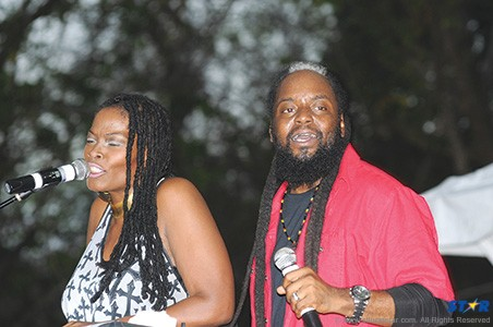 Morgan Heritage bring back the love to the people of Saint Lucia at the Fond D'or Heritage park last Saturday.