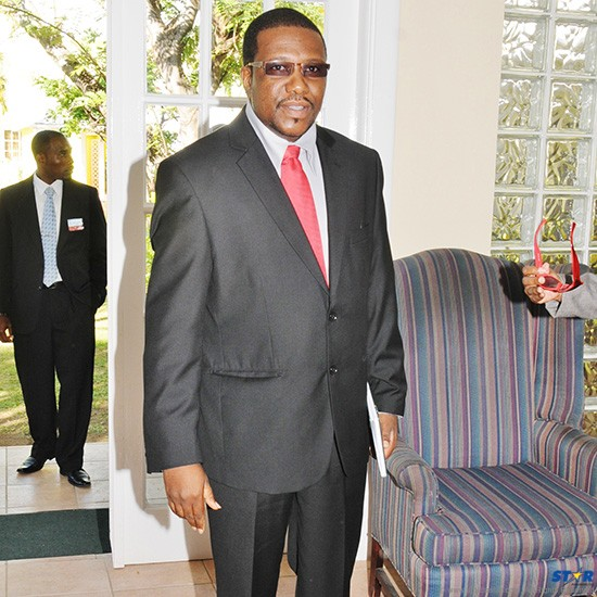 Foreign Affairs Minister and self-proclaimed President of the Republic of Laborie Alva Baptiste: His double entendres could stop a landslide in its tracks.