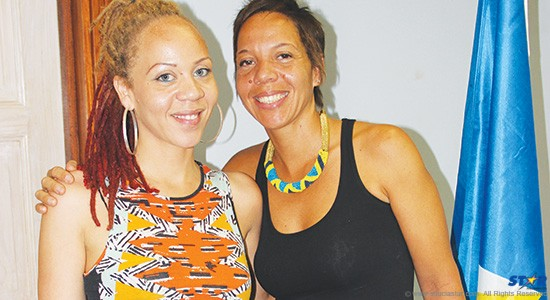 Designer and photographer Fiona Compton and sister Chef Nina Compton.