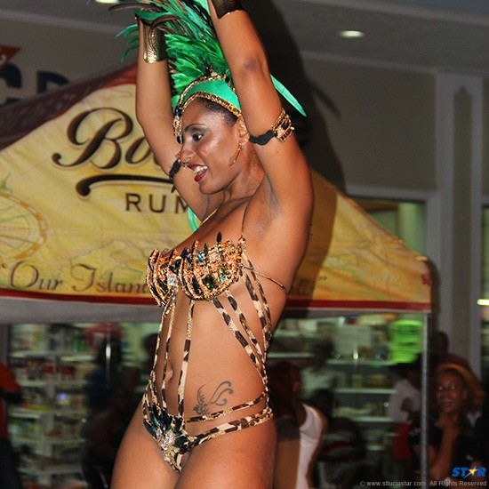 From the band launch of Royalites Extreme carnival Band portrayal of Mother Earth: Cuts or not this wild-cat may be hard to tame on the road come carnival Monday and Tuesday.