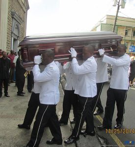 Former minister Hunter Francois' funeral ceremony took place at the La Clery Catholic Church.