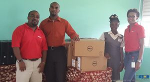Digicel delivers to Micoud Secondary.