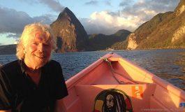 Virgin Richard Branson Climbs Piton