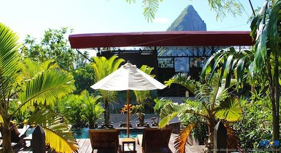 Boucan by Hotel Chocolat in St Lucia.