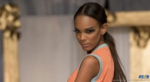A model at Kreyol Fashion Days