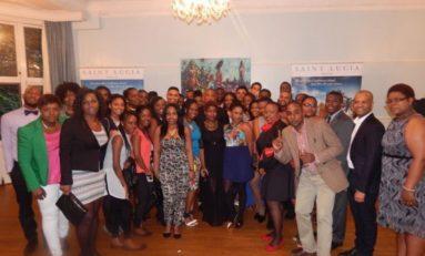 SAINT LUCIA HIGH COMMISSIONER CELEBRATES STUDENT SUCCESS IN LONDON