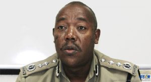 Acting police commissioner Errol Alexander: We are not flat on our backs.
