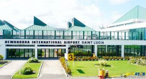 Hewanorra International Airport in Vieux Fort where recent drug finds are now a source of major concern at the island's main airport.
