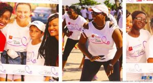 Young and old turned out to walk for a worthy cause and to have some fun as well.