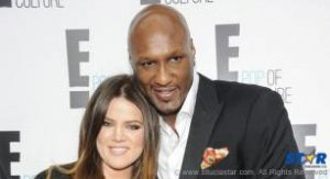 Khloe Kardashian seen here in better times with her now estranged husband Lamar Odom.
