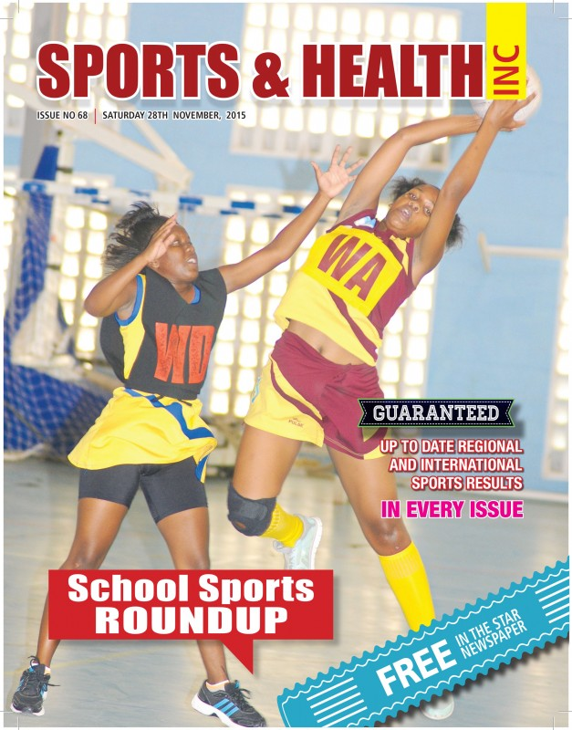 Sports & Health Magazine Inc. Issue No. 68 - Saturday November 28th 2015