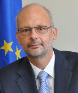 Ambassador Mikael Barfod, EU Embassador to the Eastern Caribbean Countries, the OECS, CARICOM and CARIFORUM.