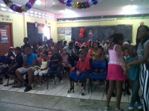 A day of fun for children of Gros Islet compliments Aunty Emma.