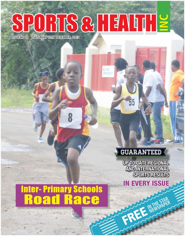 Sports & Health Inc. Issue no. 70 - Saturday December 12th, 2015