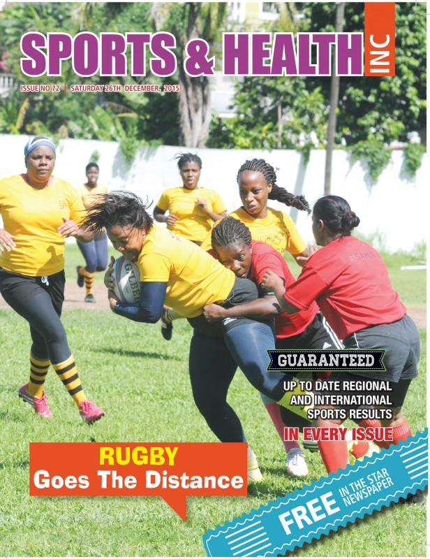 Sports & Health Magazine Inc. Issue 72 - Saturday December 26th, 2015