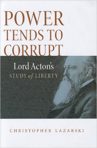 Velon John challenges the well known maxim of Lord Acton who attempted to see how the principles of self-determination and freedom worked in practice, from antiquity to his own time.