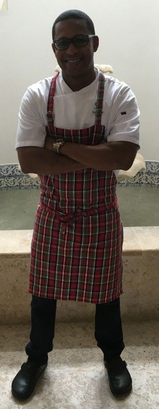 Chef Shorne Benjamin is here in Saint Lucia as part of Cap Maison's ongoing guest chef series.
