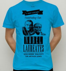 T-shirts by I-Am-Lucian Apparel will be part of Nobel Laureate Week celebrations this year.