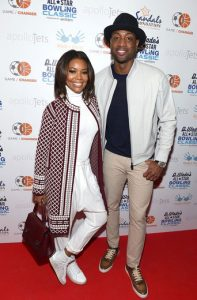 NBA All-Star Dwayne Wade and actress/wife Gabrielle Union.