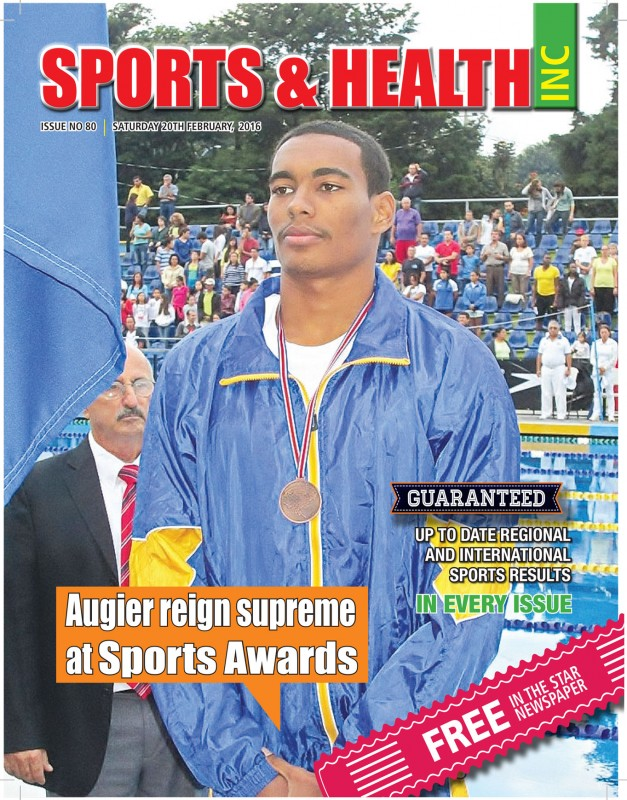 Sports & Health Magazine Inc. Saturday February 20th, 2016 - Issue no. 80