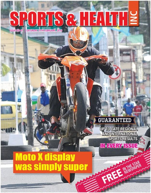 Sports & Health Magazine Inc. Saturday February 27th, 2016 - Issue no. 81