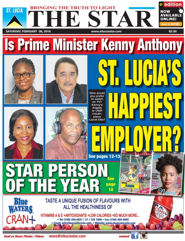 The STAR Newspaper Saturday February 6th, 2016