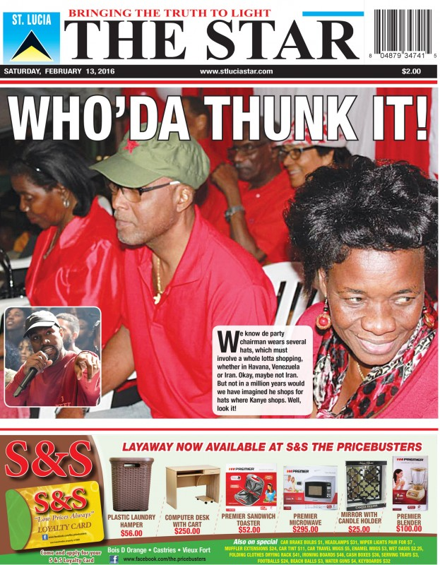 The STAR Newspaper Saturday 13th February, 2016 - Image of the Week