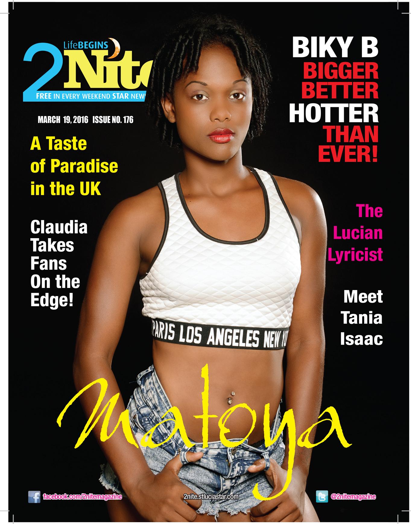 2Nite Magazine Saturday March 19th, 2016 ~ Issue no. 176