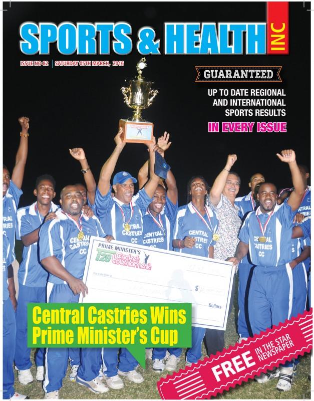 Sports & Health Magazine Inc. Saturday March 4th, 2016 Issue no. 82