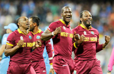 Bravo! Sammy and Gayle doing the Champions dance.