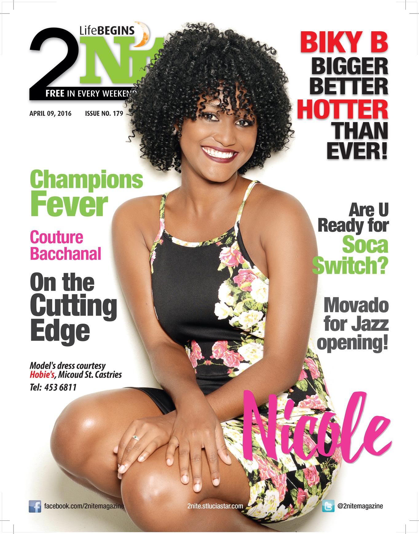 2Nite Magazine for Saturday April 9th, 2016 ~ Issue no. 179